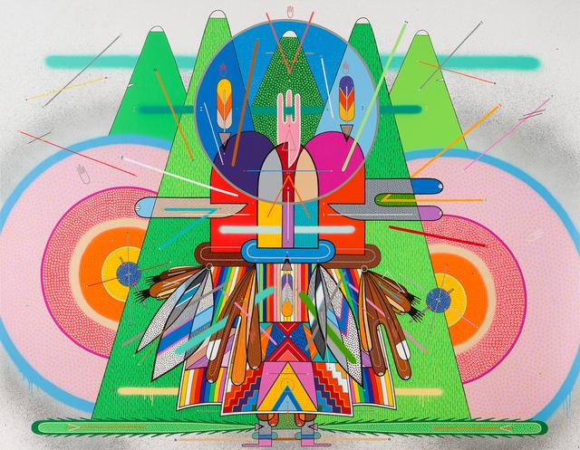 , 'El espíritu de la montaña #2,' 2015, Alice