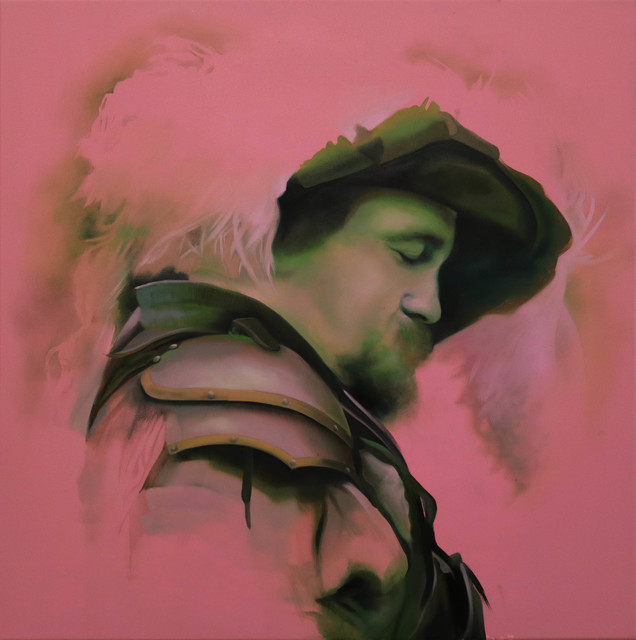 Manu Muñoz, 'Un pintor de Tarazona', 2018, Blanca Soto Arte