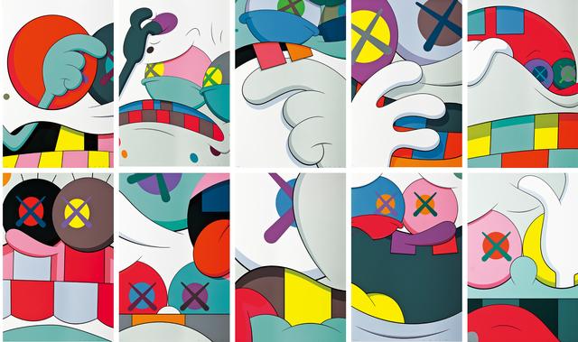 KAWS, 'Blame Game (complete set of 10 prints)', 2014, Seoul Auction