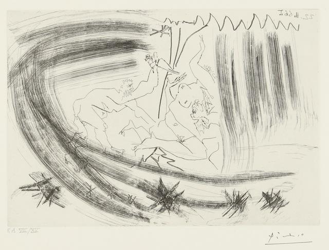 Pablo Picasso, 'Au Théâtre: Meurtre  (B. 1419; Ba. 1447)', Print, Etching, Sotheby's