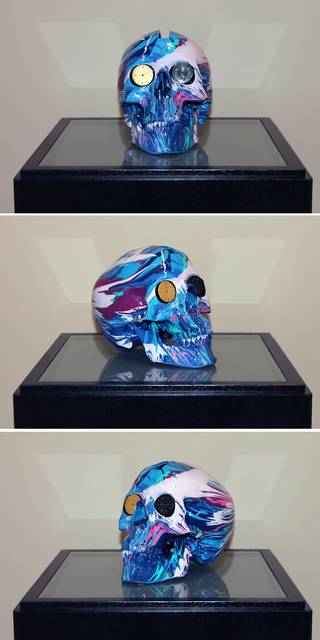 , 'The Hours Spin Skull #4,' 2009, Kenneth A. Friedman & Co.