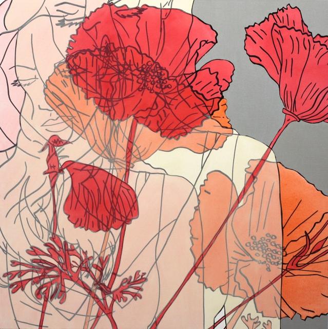 Hilary Bond, 'Lana and Flowers', 2016, Artspace Warehouse