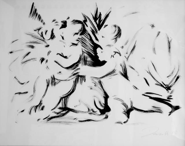 , 'Child Study (after Poussin's Triumph of David),' 2017, Dellasposa