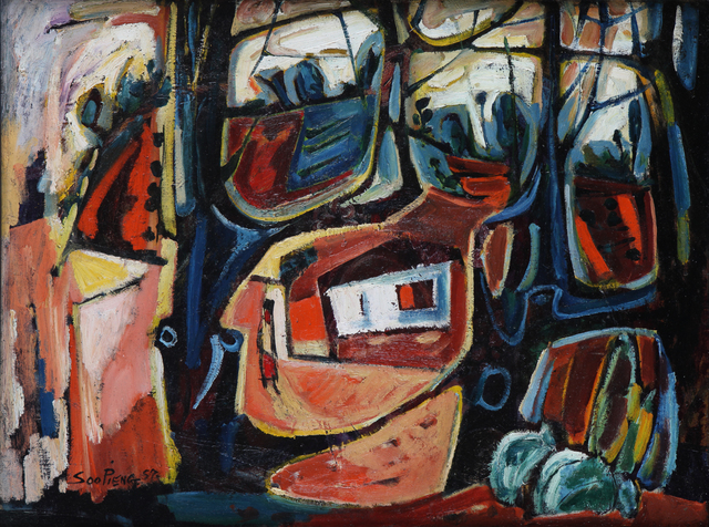 , 'Malay Village,' 1957, Artcommune Gallery