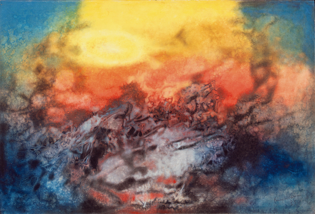 , 'Time and the Elements,' 1985, October Gallery