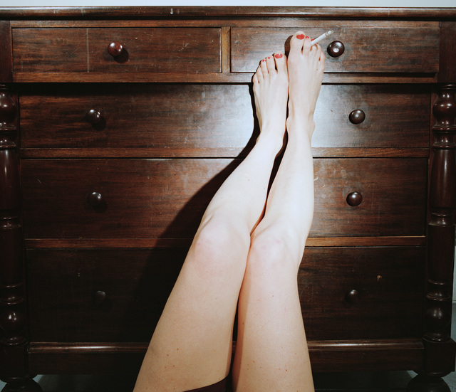 , 'Legs on Dresser,' ca. 1976-1977, ROSEGALLERY