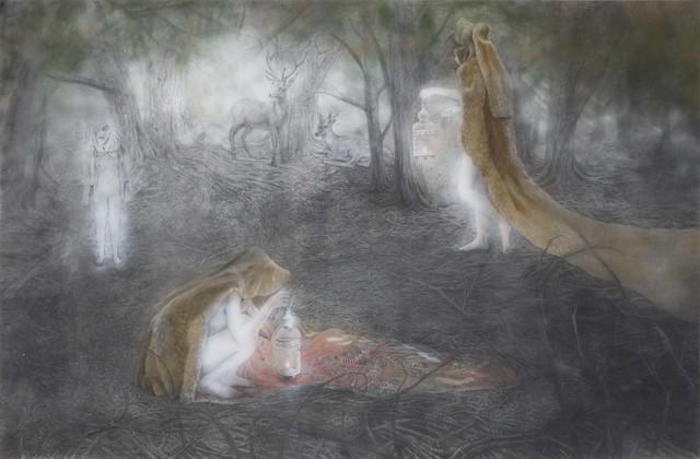 , 'Losing sight of illuminating,' 2016, Mizuma Art Gallery