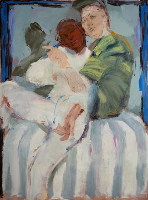 , 'Red Icon,' 2018, Ani Molnár Gallery