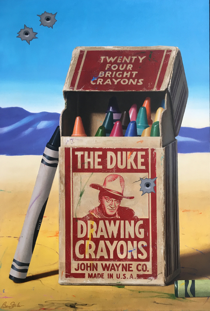 Ben Steele, 'The Duke Drawing Crayons', 2016, Modern West