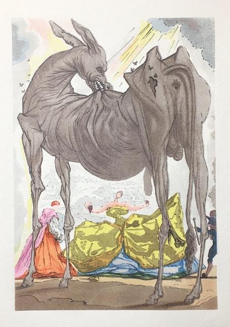 Salvador Dalí, 'Le Doute De La Réalité', 1959, Drawing, Collage or other Work on Paper, Wood engraving, Dali Paris