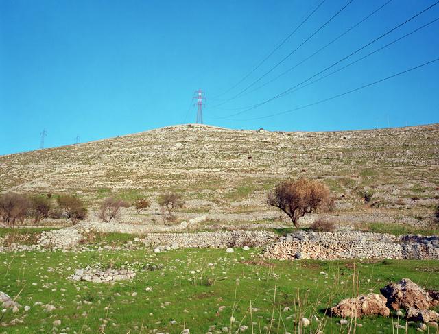 Jeff Wall, 'Hillside near Ragusa', 2007, White Cube