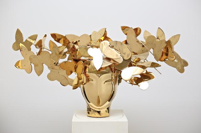 , 'Cabeza con Mariposas,' 2018, Opera Gallery