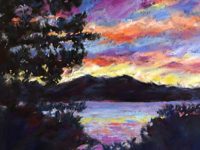 , 'Tahoe Sunset,' 2018, Tim Collom Gallery