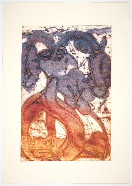 , 'Bouquet (mum, orange, ultra, chine collé),' 2019, Manneken Press