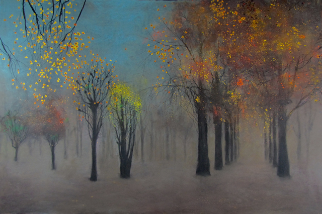 , 'The Golden Avenue,' 2016, John Martin Gallery