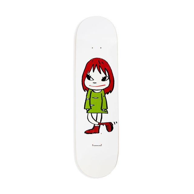 Yoshitomo Nara, 'Welcome Girl Skateboard Deck', 2017, Design/Decorative Art, 7-ply Canadian Maplewood with screen-print, Artware Editions