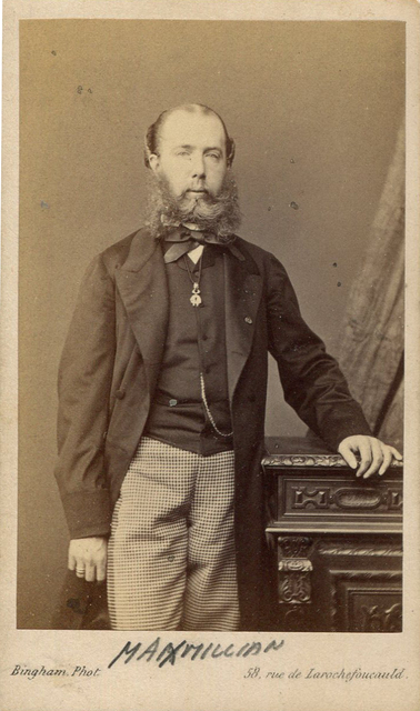 , 'Portrait of French Emperor Maximillian of Mexico,' ca. 1867, Galeria Enrique Guerrero