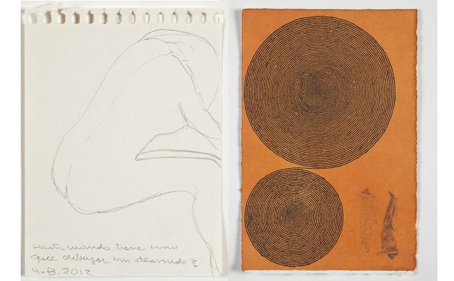 , 'Desnudo,' 2012, Casas Riegner