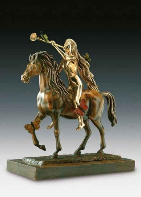 , 'Lady Godiva with Butterflies ,' 1984, Hazelton Fine Art Galleries