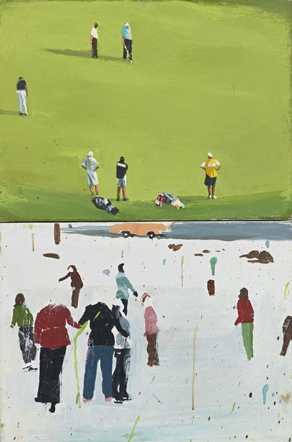 , 'Grass and Ice,' 2017, Berggruen Gallery