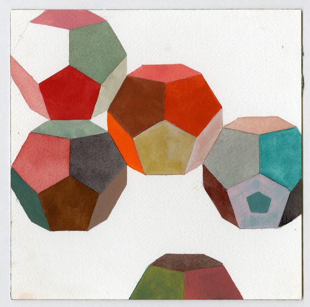 , 'Dodecahedron Study,' 2011, InLiquid