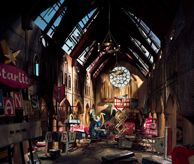 , 'Church,' 2009, ClampArt