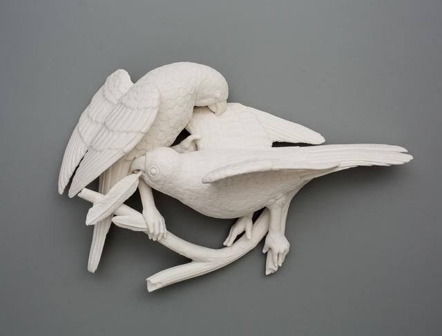 , 'Bird Duo 3,' 2016, Mindy Solomon Gallery