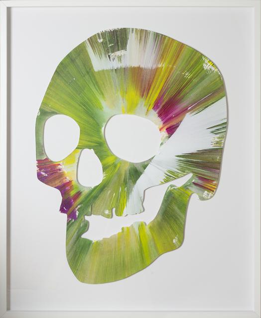 , 'Spin Painting - Green Skull,' 2009, RUDOLF BUDJA GALLERY