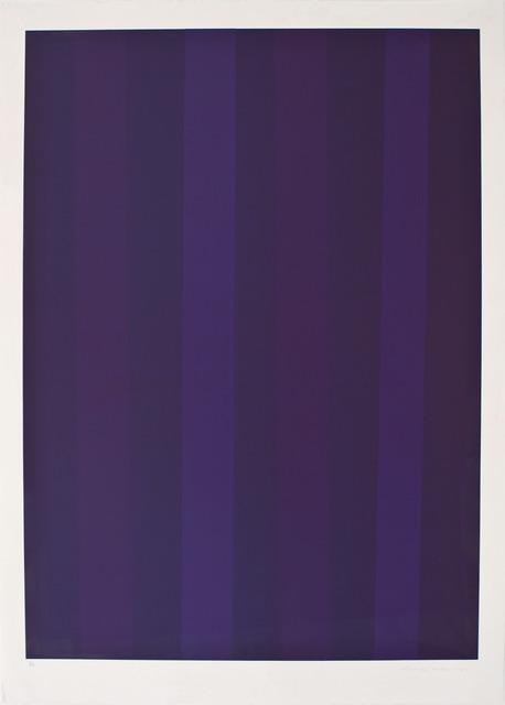 Guido Molinari, 'UNTITLED', 1992, Paul Kuhn Gallery