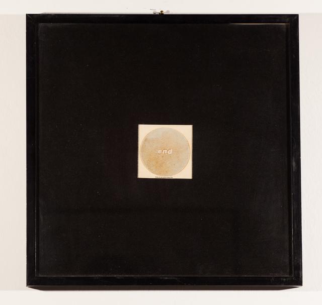 , 'Ostia di vero grano senza Dio,' 1974, Erica Ravenna Fiorentini Arte Contemporanea