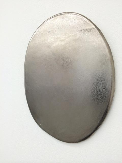 , 'Tubular (platinum lustre),' 2015, Galerie pompom