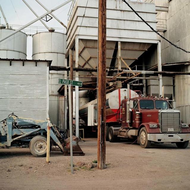 Allison V. Smith, 'El Paso Street. Marfa, Texas', 2012, Barry Whistler Gallery