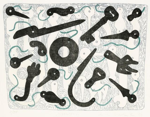 """, '""""Inventory"""",' 1988, Galerie Bei Der Albertina Zetter"""