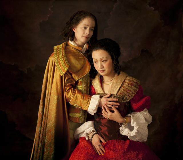 , 'Ode to Rembrandt's Jewish Bride,' 2013, Jonathan Ferrara Gallery