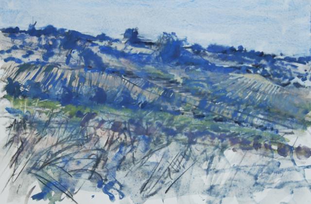 , 'Bellegarde, Provence II,' 1969, Robert Eagle Fine Art