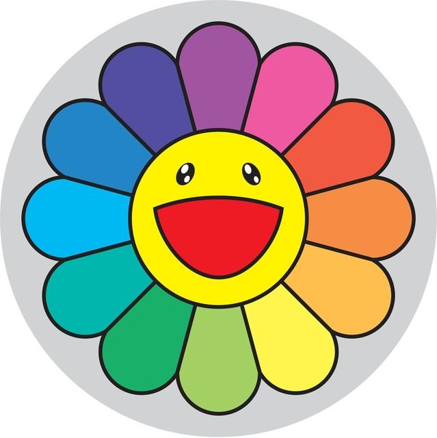 Takashi Murakami, 'Rainbow Flower - 5 O'Clock', 2007, Gagosian