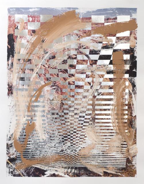 , 'Stone pinnacles falling into,' 2018, EUQINOM Gallery