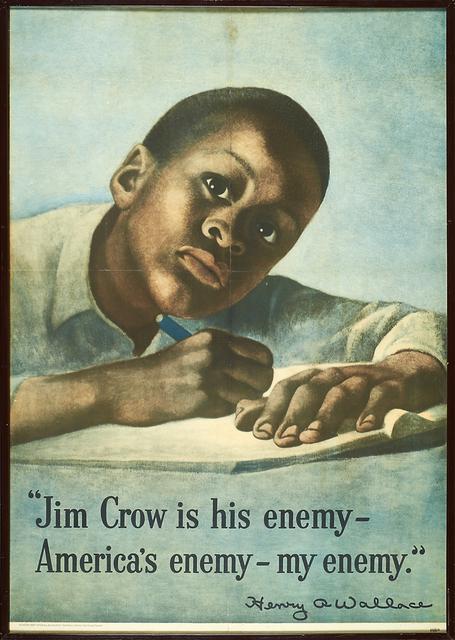 Symeon Shimin, 'Jim Crow is His Enemy', 1948, Rago