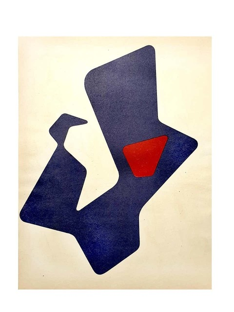 Jean Arp, 'Original Lithograph by Jean Arp', 1951, Print, Lithograph, Galerie Philia