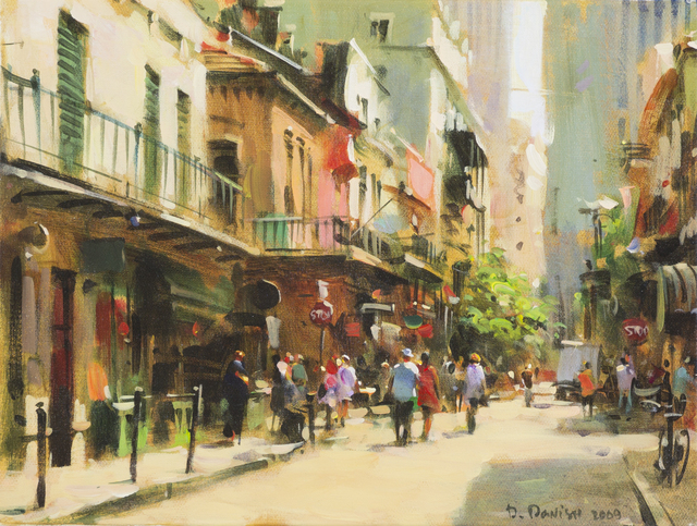 , 'French Quarter,' , Cutter & Cutter Fine Art