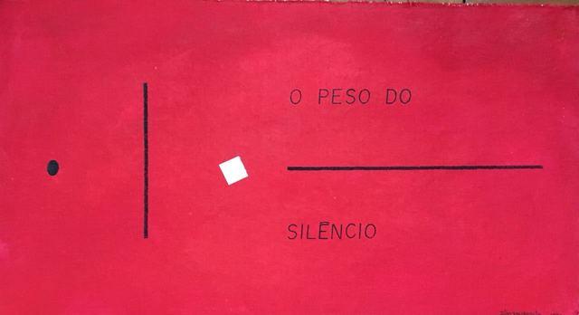 , 'O peso do silêncio,' 1976, Baró Galeria
