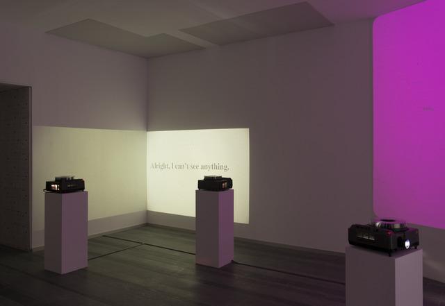 Meris Angioletti, 'Amber, Orange, Grey A conversation about cinema', Future Generation Art Prize
