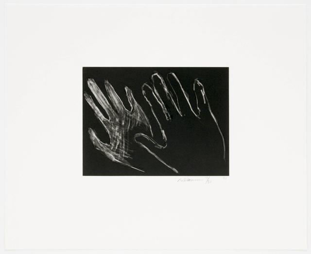 Bruce Nauman, 'Untitled (Hands)', Brooke Alexander, Inc.