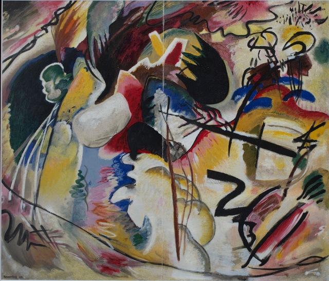 Oriental Wassily Kandinsky Fine Art Print