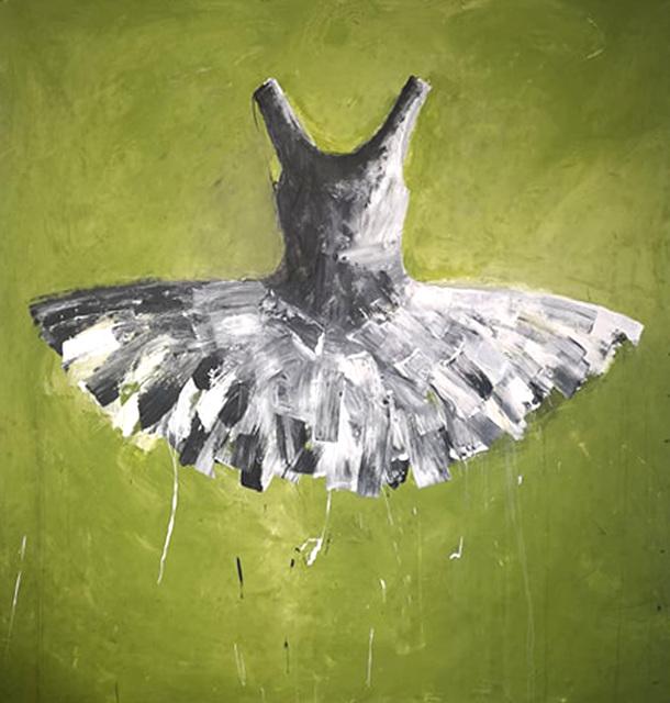 Ewa Bathelier, 'Interstellar green tutu'', 2019, Galleria Ca' d'Oro