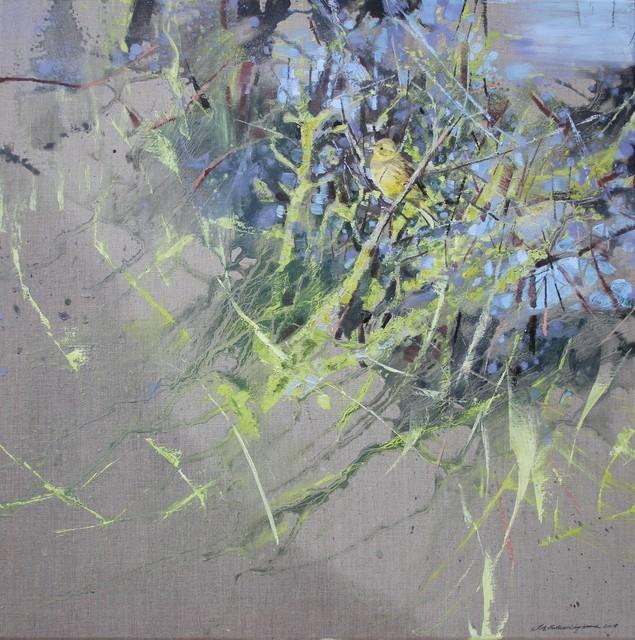, 'Yellowhammer, Lichen,' 2018, Sarah Wiseman Gallery