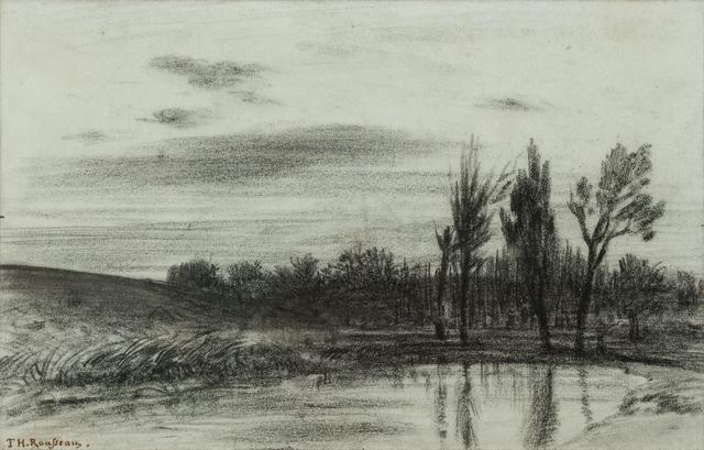 , 'Trees near a Stream,' ca. 1845, Jill Newhouse Gallery