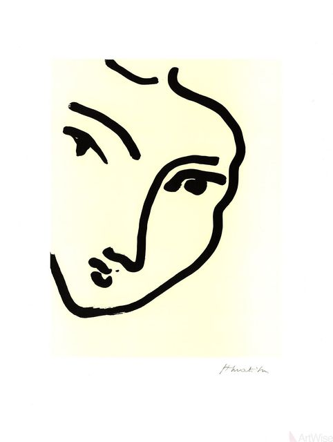 Henri Matisse, 'Nadia Au Menton Pointu', 1995, ArtWise