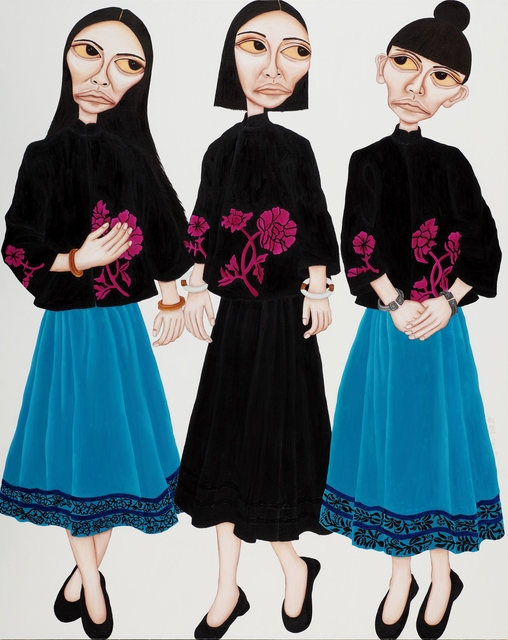 , 'Clashing Outfits,' 2014, Galerie Grand Siecle