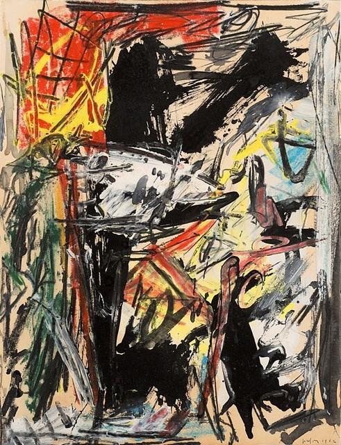 Emilio Vedova, 'Studio per sopraffazione n. 1', 1962, Finarte